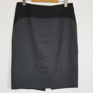 Mexx Metropolitan mini-houndstooth pencil skirt